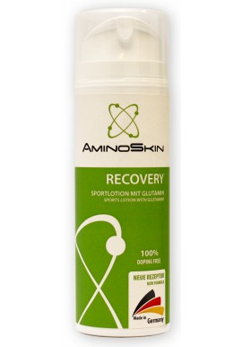 AminoSkin Recovery, Sportlotion with Glutamine